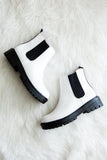 Take A Walk Booties in White