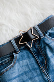 Star Stunner Belt in Black/Gold