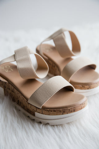 Renegade Sandals in Beige