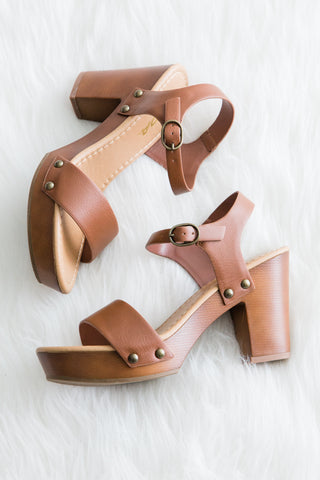 Sea You Soon Sandals in Tan