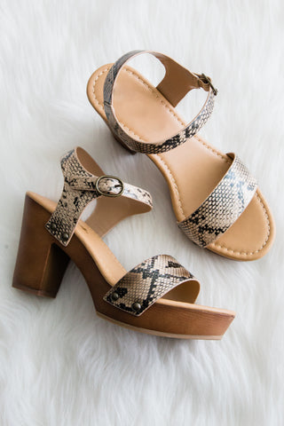 Sea You Soon Sandals in Python