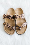 Let's Explore Sandals in Black/Brown
