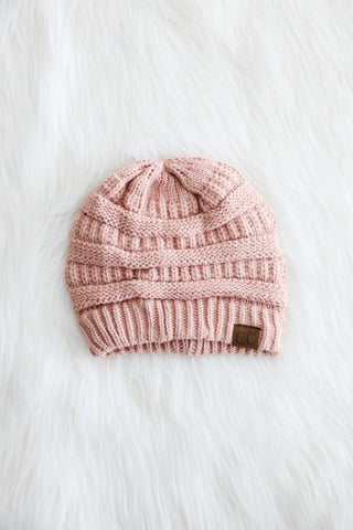 All Winter Long CC Beanie in Indi Pink