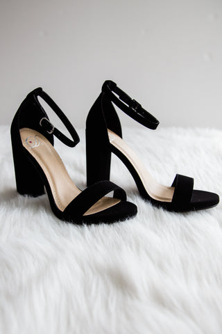 Stand Tall Shoes in Black
