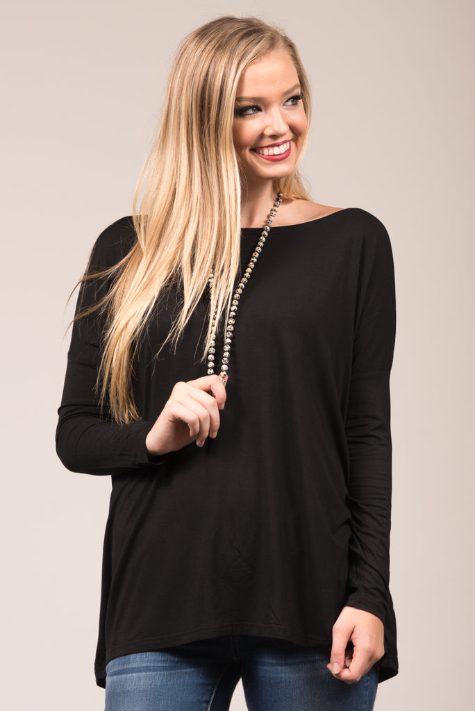Piko Perfect Top in Black
