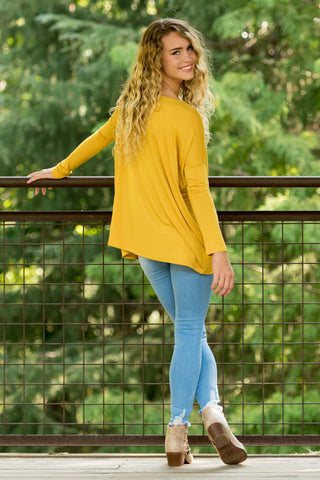 Piko Perfect Top in Dark Yellow