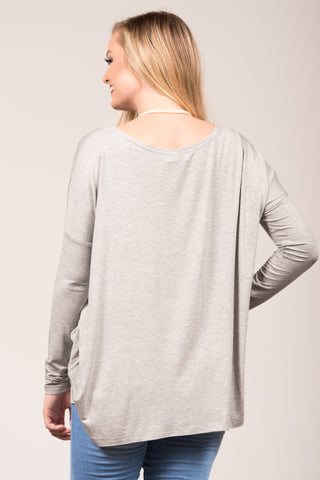 Piko Perfect in Heather Grey