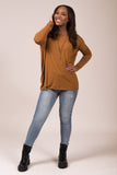 Piko Perfect Top in Mustard
