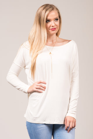 Piko Perfect Top in Off White