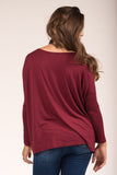 Piko Perfect Top in Plum