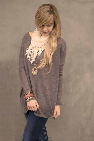 Piko Plush in Grey