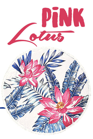 Roundie in Pink Lotus