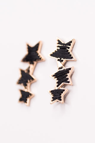 Ohara Earrings in Black