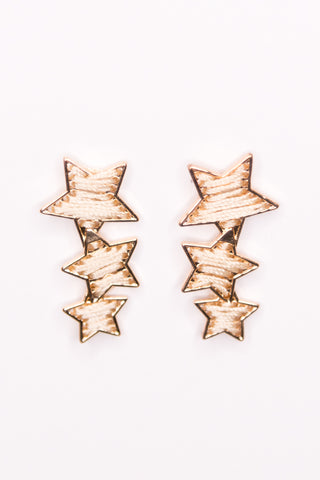 Ohara Earrings in Cream