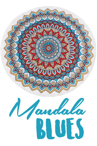 Roundie in Mandala Blues