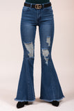 Reckless Distressed Flares