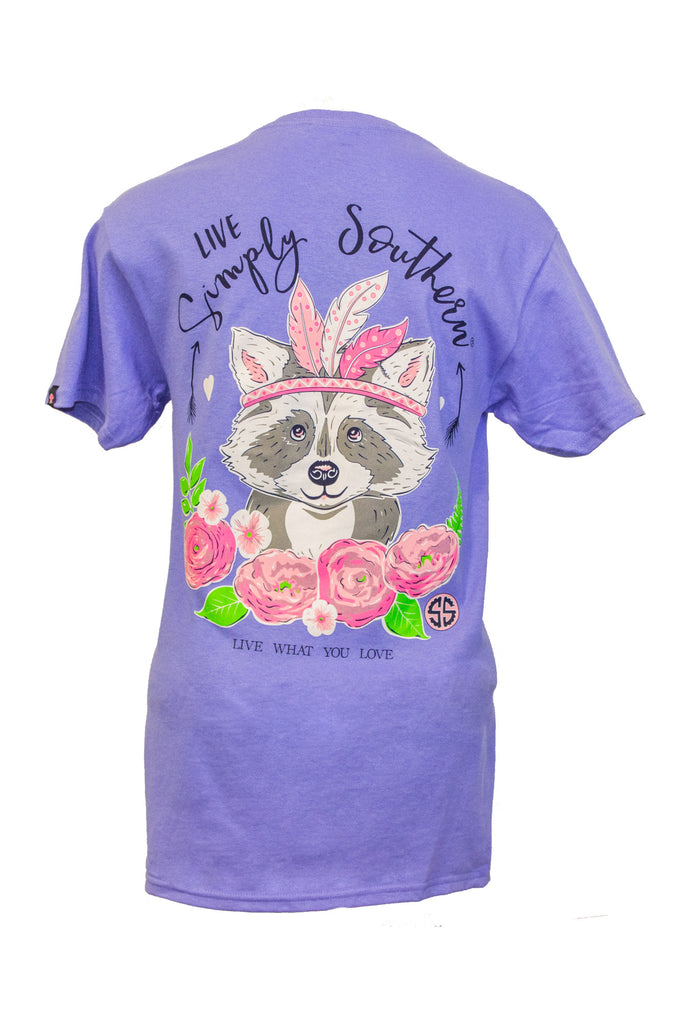Simply Southern Short Sleeve in Racoon
