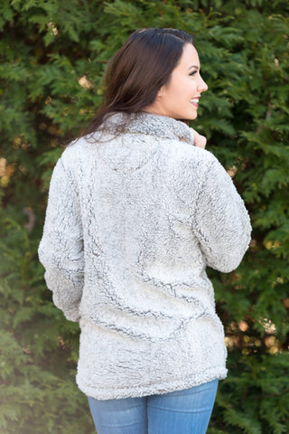 Sherpa Simply Southern Pullover in Pearl