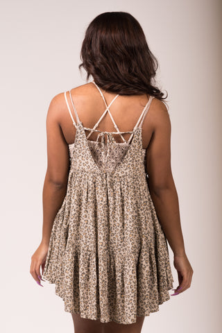 Sweet Sounds Dress in Cheetah