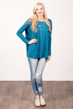 Piko Perfect Top in Indigo