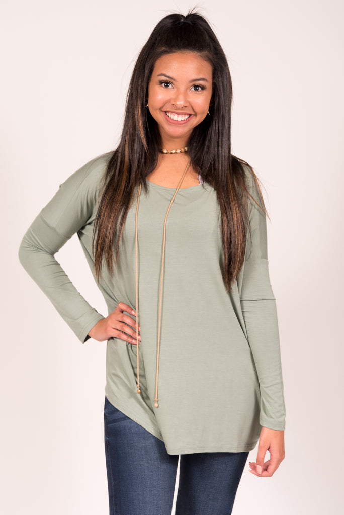 Piko Perfect Top in Sage