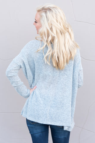 Piko Plush in Light Grey