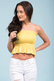She Will be Loved Top in Citron