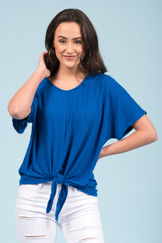 Just in Love Top in Royal Blue