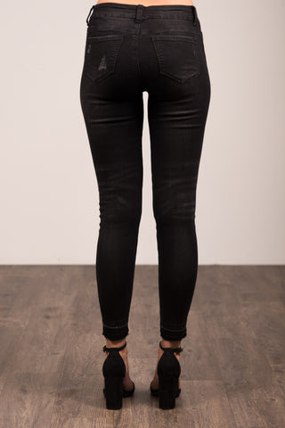 Everyday Denim in Jet Black