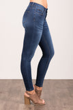 Everyday Denim in Dark Skinnies