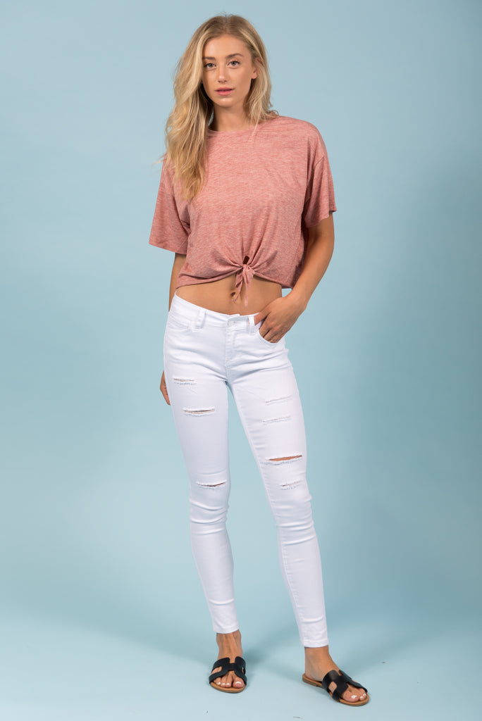 Madison Jeans in White
