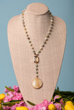 Peyton Necklace in Amazonite
