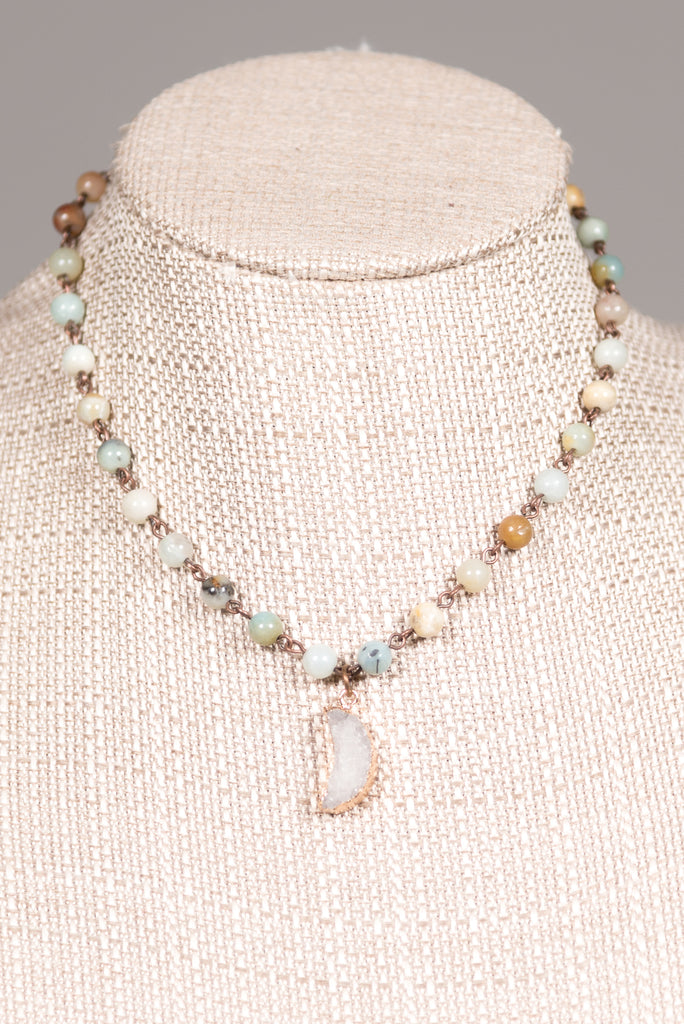 Adalyn Necklace in Amazonite