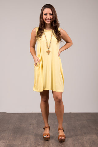 Amagansett Swing Dress in Sunshine