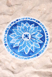 Roundie in Blue Mandala
