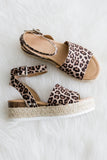 Aloha Life Sandals in Cheetah