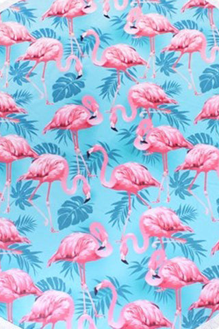 Roundie in Pink Flamingo