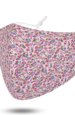 Face Mask - Light Pink Floral