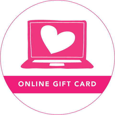 Online Gift Cards - Spend Online Only