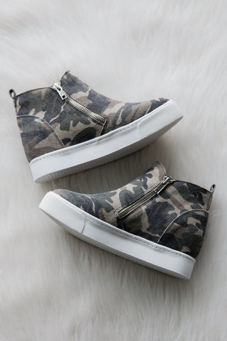 Look At You Sneakers in Camo