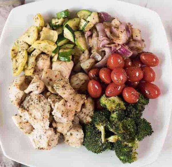 Italian Chicken and Vegetables
