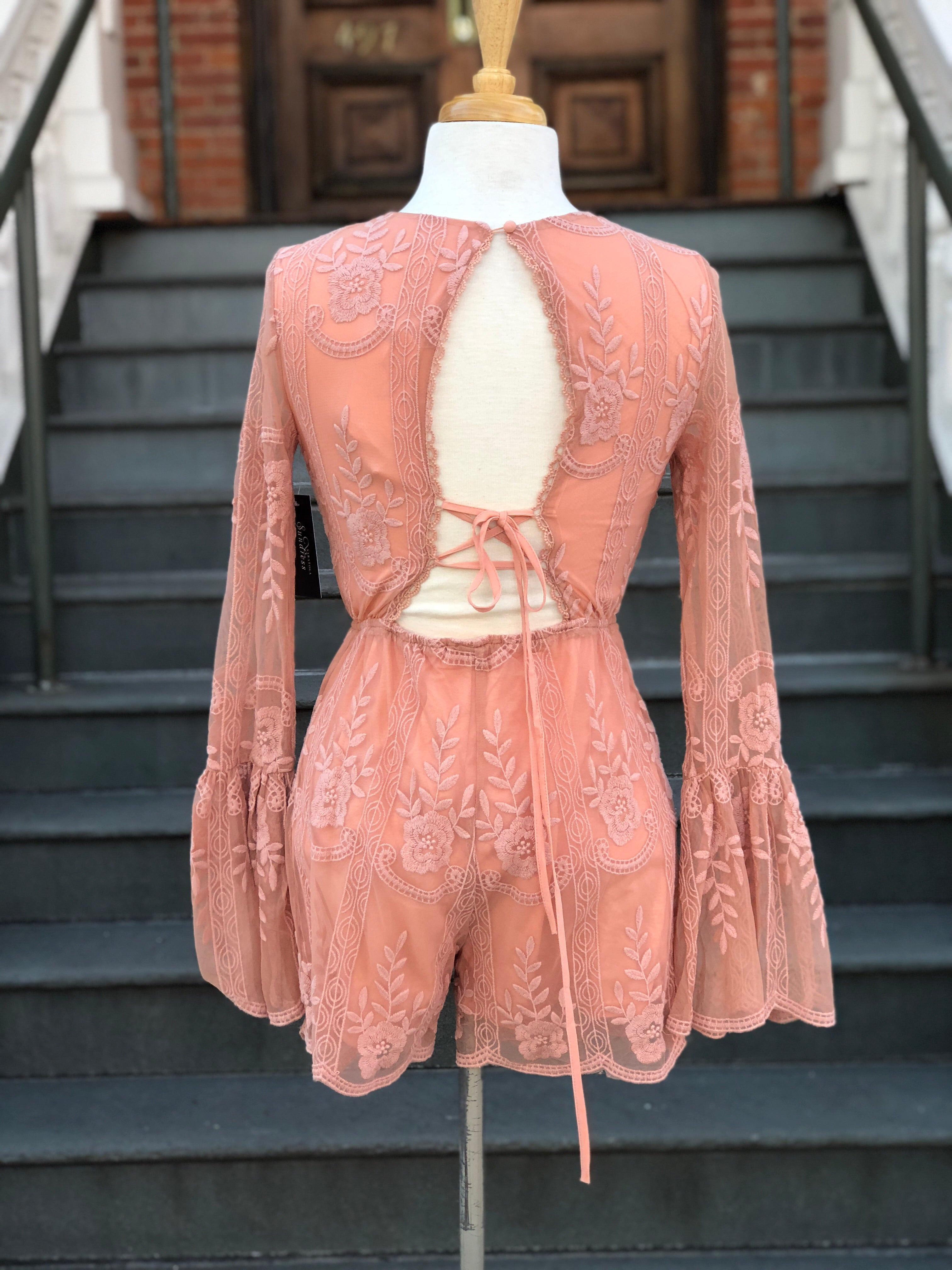 the Peach Schnapps romper