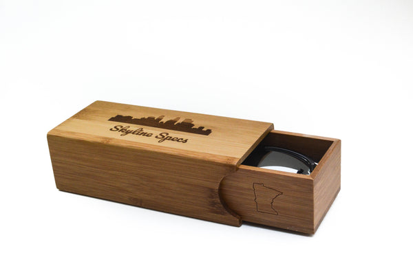 Square Bamboo Case