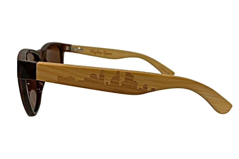 Minneapolis Wayfarer | Brown - Skyline Specs