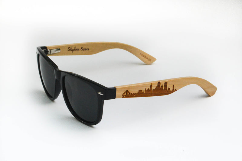 San Francisco Wayfarer | Black - Skyline Specs