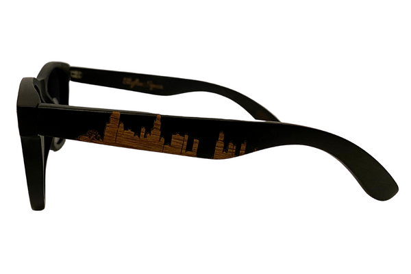Chicago All Wood | Dark - Skyline Specs