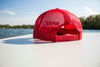 Red, Wake & Blue Trucker - Red