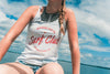 Surf Club Tank - Heather White