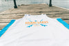 10k Lakes Comp Tank - White/Blue/Orange