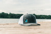Wake Wisconsin Snapback - White
